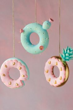 Crazy Donut Ornaments