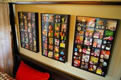 Miniature Toy Collection in display cases from ikea (by Superjunk via flickr)