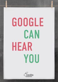 Google can hear you #SEO