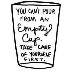 Self-care is so important!