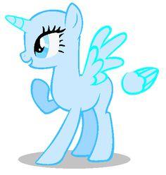 For me? Pony Base by BlazeTheFirePony