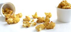 Cauliflower Popcorn Bites - One Handed Cooks Switch olive oil to butter or coconut oil.