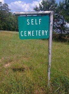 self cemetery | The soul is bone