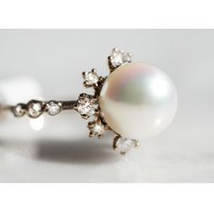 Winter Pearl Ring by Kataoka