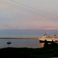 Sunset at Old Harbor, Block Island, RI