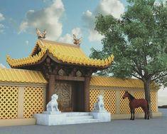 Ancient Architecture, Architecture Design, Imagination Station, Pergola, Outdoor Structures, Comics, Places, Inspiration, Decor