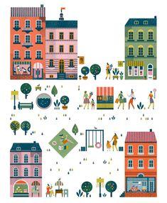 Olivia illustration by Lotta Nieminen