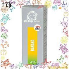 ✫✫✫ Bananowy zawrót głowy ✫✫✫  Istnieje ponad 80 gatunków bananów, wybraliśmy spośród nich to co najlepsze i zamknęliśmy w formię aromatycznego liquidu marki LION DESIGN FACTORY.  Odwiedźcie nas na http://studioaroma.com.pl/ oraz http://www.tobaccoconceptfactory.pl/ i dowiedźcie się więcej.