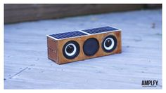 DIY Mini AMPLFY Bluetooth, SolarPowered, Iphone Charging Speakers!