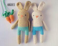 Patrón amigurumi Bunny por Mongoreto en Etsy