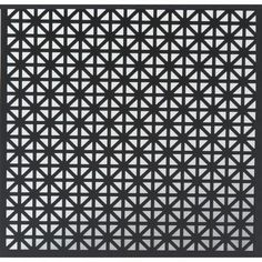 MD Building Products 24 in. x 36 in. Union Jack Aluminum in Black-56000 - The Home Depot