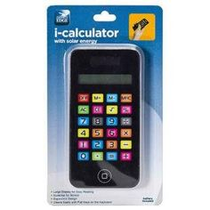 i-Calculator with Solar Energy - For Office or School - Makes a Great Gift for a Apple Fan! - http://www.yourglt.com/i-calculator-with-solar-energy-for-office-or-school-makes-a-great-gift-for-a-apple-fan/?utm_source=PN&utm_medium=http%3A%2F%2Fwww.pinterest.com%2Fpin%2F368450813235896433&utm_campaign=SNAP%2Bfrom%2BGreening+Your+Home