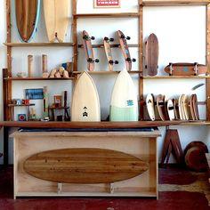 What a cool little surf shop!