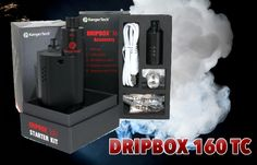 The first comprehensive look at the Kanger Dripbox 160 TC. Variable Wattage, Temperature Control, prebuilt coils decks, and more