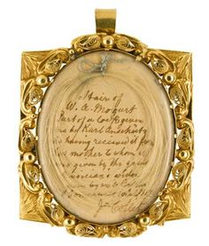 Mozart Gold Locket