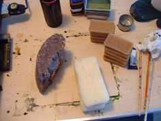 Encaustic Art Techniques   HERE is an excellent article on making the traditional encaustic ...