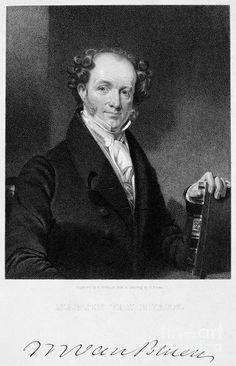 Martin Van Buren #8, (1837-1841).