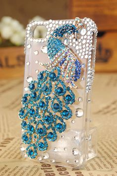 Free Shipping to USA  crystal cover cell phone case  by BlingWork, $19.90