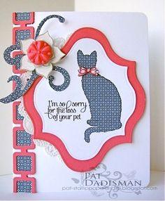 Kitten Trio paper pieced