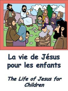 Jesus is born in Bethlehem Jésus naît dans la petite ville de Bethléem The angel Gab...