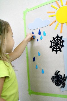 Itsy Bitsy Spider Sticky Wall -- Fantastic Fun and Learning