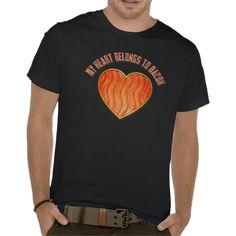 My heart belongs to bacon!  #Funny #Humor #bacon