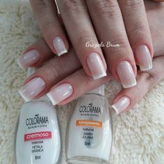 29 Best Ideas For French Manicure Diy Toes Nail Polish French Manicure Acrylic Nails, Summer Acrylic Nails, French Nails, Manicure Colors, Nail Polish Colors, Manicure And Pedicure, Acrylic Nail Shapes, Toe Nails, Beauty Nails