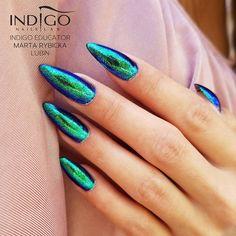 """3,112 Likes, 15 Comments - Indigo Nails (@indigonails) on Instagram: """"Elegance never goes out of fashion #indigonails #indigo #indigonailslab #brand #madewithlove…"""""""