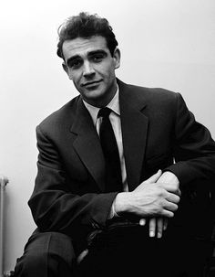 Sean Connery. 1957      Sean Connery, 1957    Oh, sure, you can try to be this cool…but, in reality, we all know how that's going to work out for you.