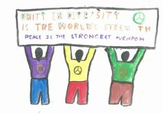 Unity in Diversity is the World's Strength - Peace is the strongest weapon!