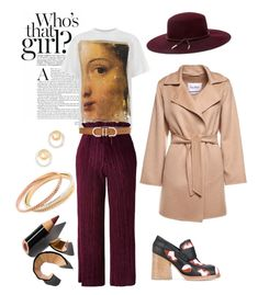 """""""Who' s that girl look"""" by cristina-bedopoulou on Polyvore featuring Marni, MaxMara, Golden Goose, Topshop, White House Black Market, Madewell, Agapantha, Ted Baker and Bobbi Brown Cosmetics"""