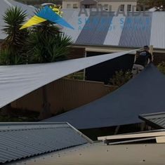 Take a look at our local expert shade sail installers at work on our YouTube channel.