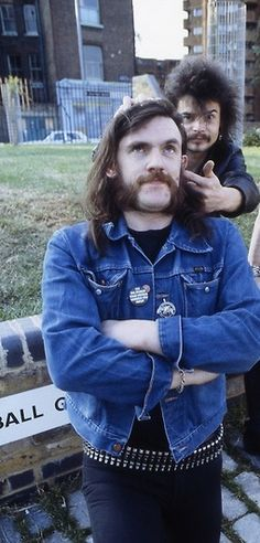 lemmy kilmister & Phil Taylor
