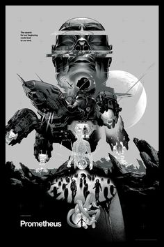 Prometheus by Martin Ansin