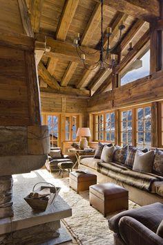 Chalet - Living Room