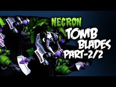 How To Paint Necron Tomb Blades Part 2/2 - YouTube