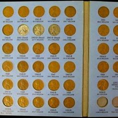 MEMORIAL 1959-1974 P,D,S CENT COLLECTION FULL BOOK of LINCOLN WHEAT 1941-1958