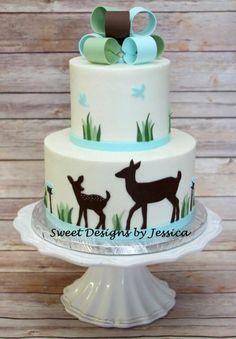 Laura Lee's shower - Cake by SweetdesignsbyJesica
