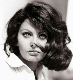 Sophia Loren photographed by Peter Basch, 1963. #celebrities