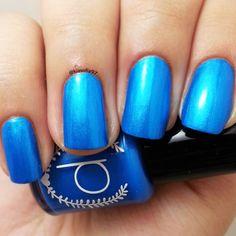 New to ParloCosmetics on Etsy: Blue Nail Polish - True Blue - Nail Polish - About A Boy (4.75 USD)