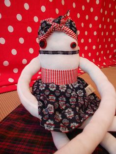 """Zezling!'s """"Zeza Batik"""", a doll with her own story which can be continued by you."""