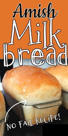 Amish Bread Recipes, Bread Machine Recipes, Baking Recipes, Bread Bun, Easy Bread, Bread Rolls, Cooking Bread, Bread Baking, Amish White Bread