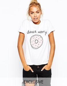 Esta camiseta de dona ($33): | 25 Inteligentes formas de cubrir con estilo tu cuerpo de comida