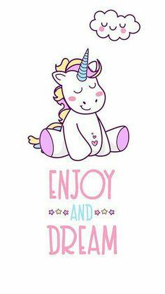 unicorn, wallpaper, and Dream image - Kawaii Unicorn - İmages Real Unicorn, Unicorn Art, Magical Unicorn, Cute Unicorn, Rainbow Unicorn, Unicorn Drawing, Unicorn Crafts, Unicorn Outfit, Unicornios Wallpaper