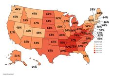 Belief in Hell in the US, 2013.