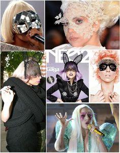 DIY Lady Gaga Masquerade Masks