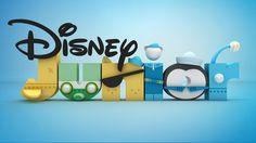 Disney Junior by Jonathan Kim, via Behance