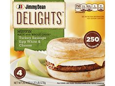 Delights Turkey Sausage Muffin - these are so good!