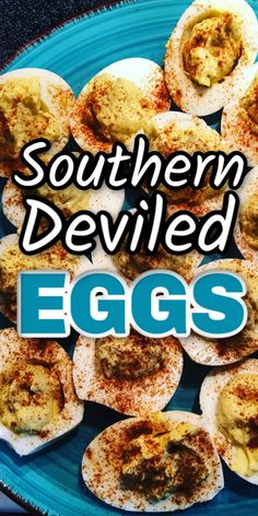 Want to make some southern deviled eggs that are easy, fast, healthy and yummy? Use this recipe for your next picnic or potluck. Southern Appetizers, Southern Recipes, Potluck Recipes, Egg Recipes, Appetizer Recipes, Breakfast Bowls, Breakfast Sandwiches, Breakfast Pizza, Keto Deviled Eggs