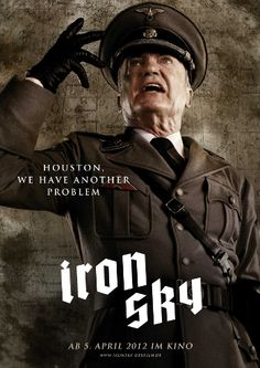 Udo Kier as Wolfgang Kortzfleisch in Iron Sky